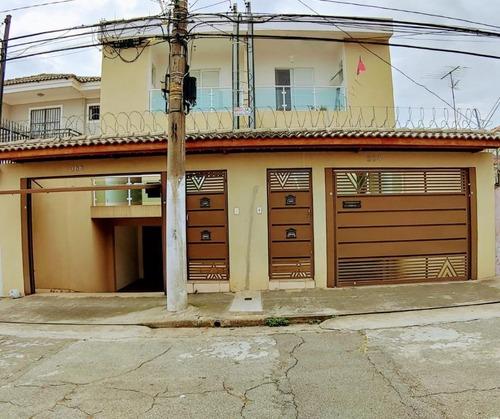 Sobrado Com 3 Dormitórios Sendo 3 Suítes Com 5 Vagas À Venda, 214 M² Por R$ 950.000 - Vila Constança - São Paulo/sp - So2433