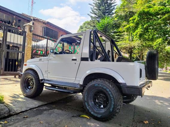 Chevrolet Samurai Campero Carpado 4x4 Con Barras Antivolco