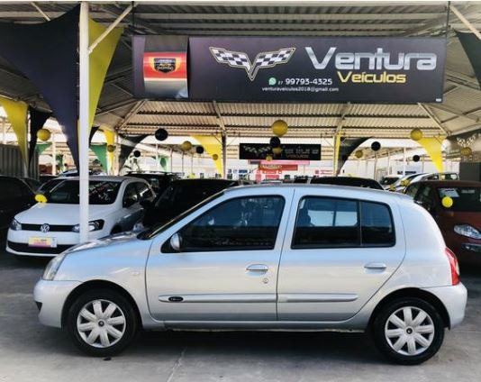 Renault Clio 1.6 16v Authentique Hi-flex 3p