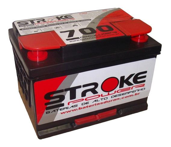 Bateria Som Automotivo Stroke Power 80ah 700ah/pico Potência
