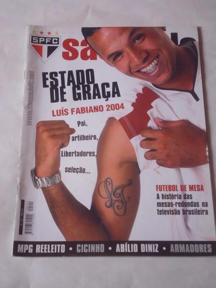Revista Oficial São Paulo Fc. Nº 122 - Luís Fabiano / Pôster