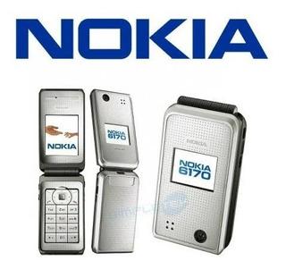 Celular Nokia 6170 Silver Silver Infrared Like New Mp3 2g