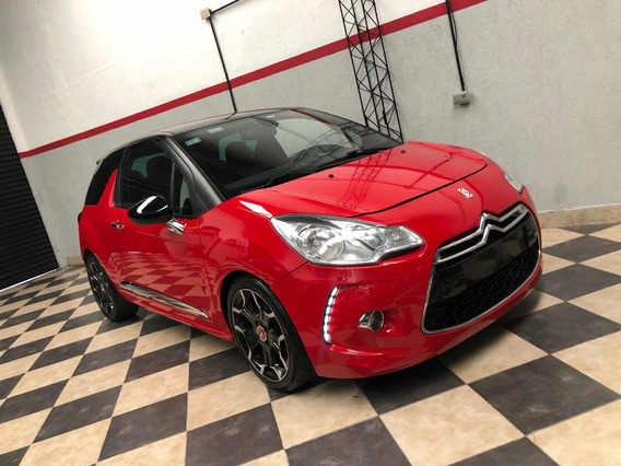 Citroën Ds3 1.6 Thp 156 Sport Chic 2013 Rojo Impecable