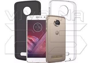 Capa De Silicone Tpu Transparente Para Celular Motorola
