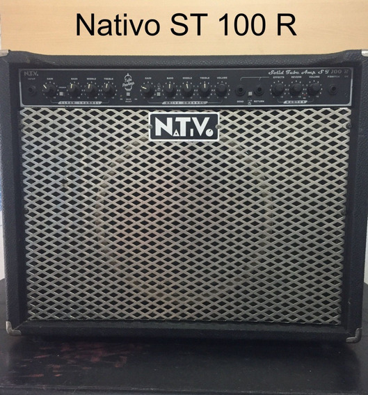 Amplificador De Guitarra Nativo St 100 R Restaurado