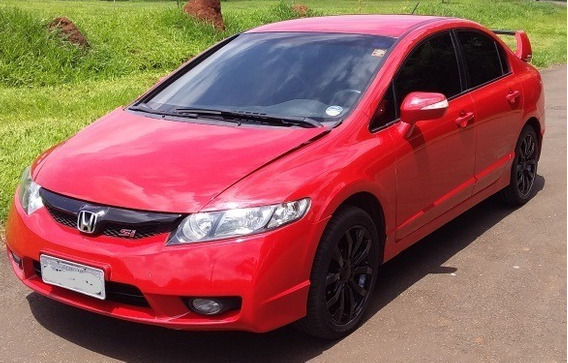 Venda Civic Si - Red 2009