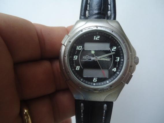 Relógio Magnum/citizen Usado Cronógrafo Digital Masculino