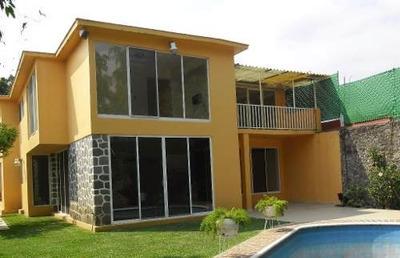 Casa Sola En Reforma / Cuernavaca - Ber-36-cs