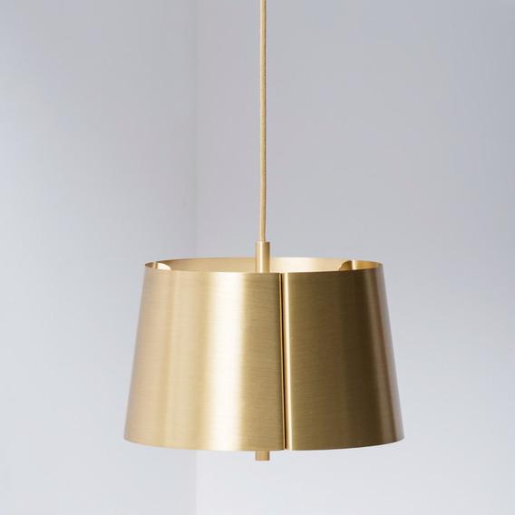 Lámpara De Suspensión De Latón Lindvall M Diseño Moderno