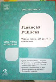 Finanças Públicas - Série Provas E Concursos