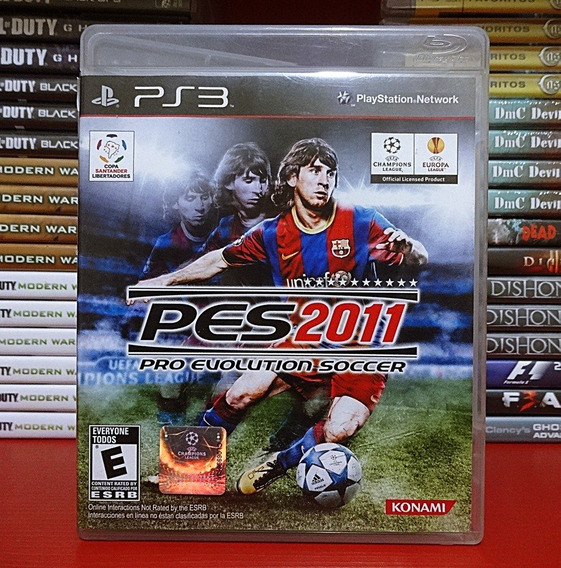 Pes 2011 Pes 11 Pro Evolution Soccer 2011 Ps3