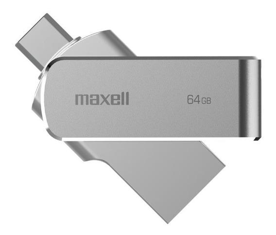 Pendrive Maxell 64gb Usb 3.0 Otg Micro Conector