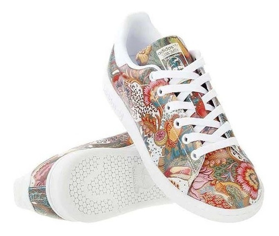 Tenis Stan Smith Multicolor Mujer Original Ba7655