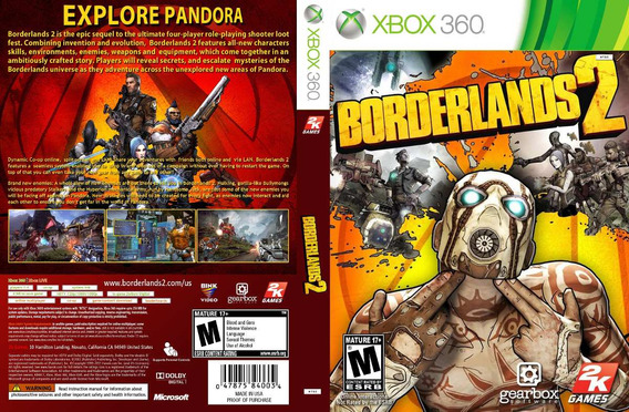Borderlands 2 - Mídia Digital Xbox 360