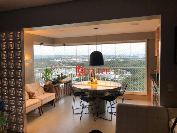 Apartamento Com 3 Dormitórios À Venda, 122 M² Por R$ 800.000,00 - Jardim Das Indústrias - São José Dos Campos/sp - Ap4036