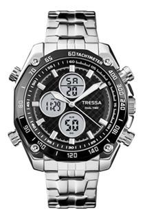 Reloj Tressa Trento Hombre Analogo Y Digital Sumergible