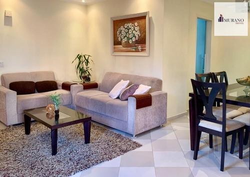 Apartamento Para Venda Em São Paulo, Mooca, 3 Dormitórios, 1 Suíte, 2 Banheiros, 1 Vaga - Moo87capi_1-1814988