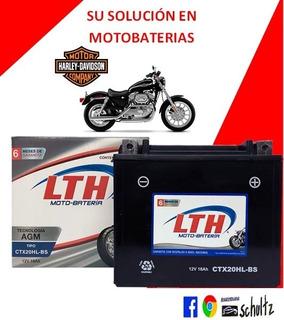 Batería Para Harley Davidson Lth Ctx20hl-bs Ytx20l-bs
