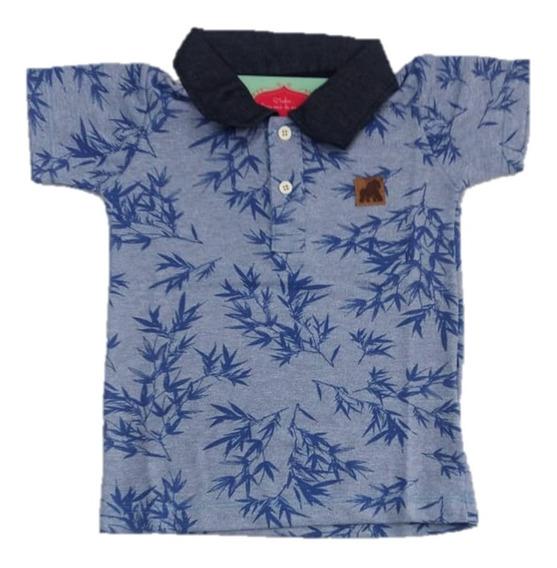 3 Camisa Camiseta Polo Infantil Masculina Menino Atacado Top