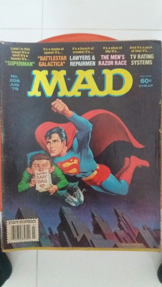 Revista Mad Americana - Superman