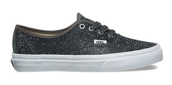 Zapatillas Vans Mod Authentic Glitter Black!!!!
