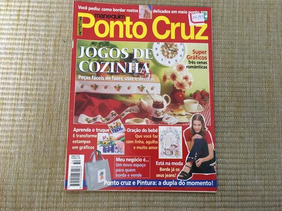 Revista Manequim Ponto Cruz 54 Panos Toalhas Estampas L621