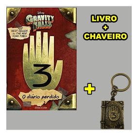 Livro - Gravity Falls Diário 3 - Original + Chaveiro