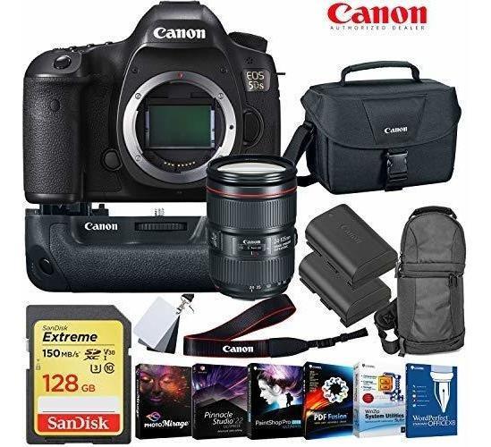 Camara Eos 5ds Dslr 24-105mm Lente 128gb Memory Card Bater ®