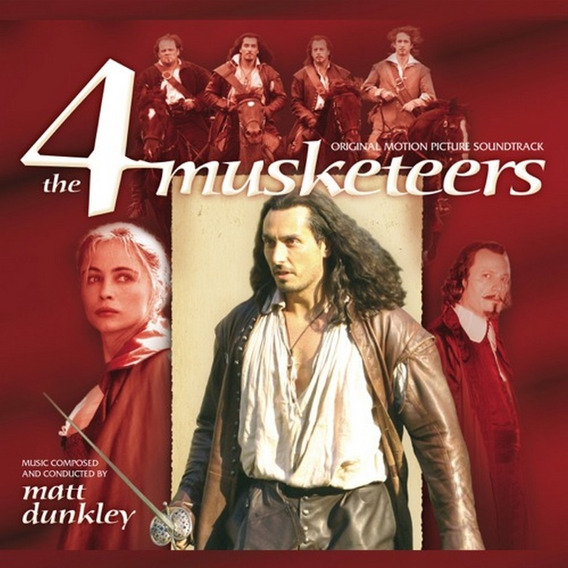 Cd The 4 Musketeers Ed. Ltda. Matt Dunkley Fora De Catálogo