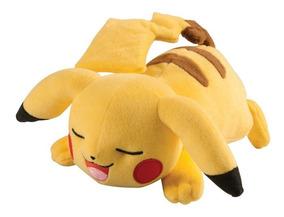 Pelúcia Pokémon Pikachu Sleep 20cm Original Tomy :)