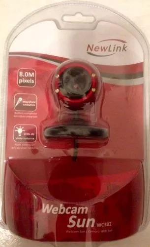 Webcam Easy - Wc302 - Vermelha
