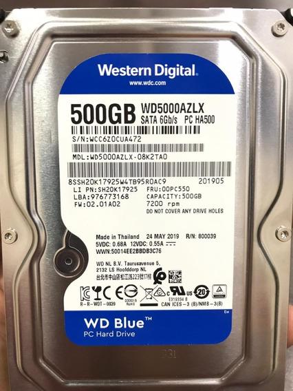 Hd 500 Gb Western Digital 7200rpm Wd5000azlx 500gb Original