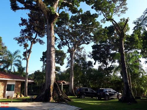 Imagem 1 de 16 de Ótima Casa Na Praia De Itamambuca Em Condomínio Fechado, Muito Ampla, Bem Localizada, Ampla, Fresca, Pertinho Da Areia, Em Meio Ao Verde - Ca00054 - 69815210