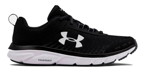 Zapatillas Under Armour Charged Assert 8 Gri/nar De Mujer