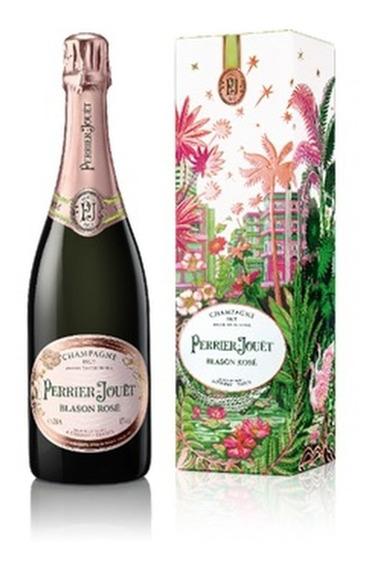 Champagne Perrier Jouët Blason Rosè Miami Gift Box 750ml