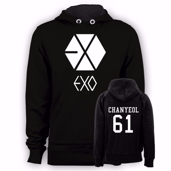 Blusa Kpop Exo Chanyeol 61
