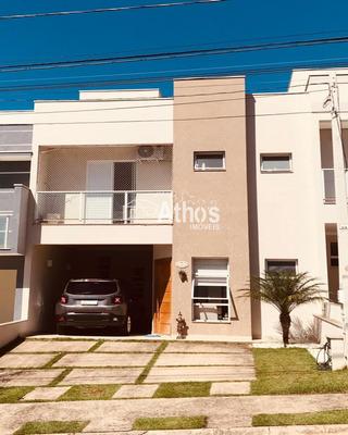 Lindo Sobrado Condomínio Vista Verde, Indaiatuba/sp, Com 3 Suites/02 Closet, Todos Com Sacada, Piscina Com Aquecimento Solar E Hidro. - Sb00510 - 33696946