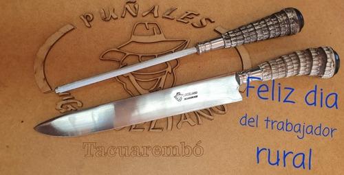 Imagen 1 de 1 de Cuchillo De Tatu De 11 Cm Y Chaira