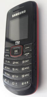 Samsung Gt-e1086l-só Vivo- Semi-novo (rádio Fm)