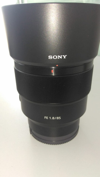 Lente Sony Sel Fe 85mm 1.8 (nova)