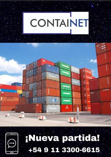 Contenedores Maritimos Usados 40' Gral Rodriguez Containers