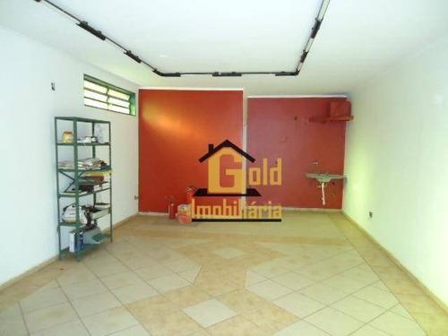 Casa Com 4 Dormitórios À Venda, 214 M² Por R$ 850.000,00 - Jardim Paulista - Ribeirão Preto/sp - Ca0671