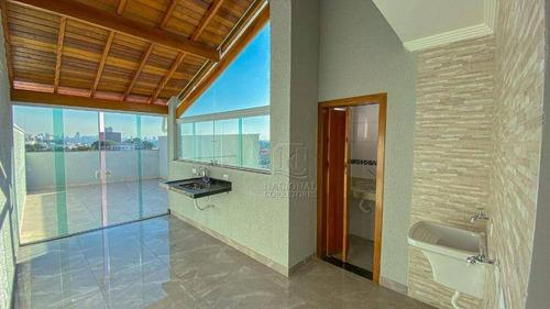 Cobertura Com 2 Dormitórios À Venda, 84 M² Por R$ 300.000,00 - Vila Francisco Matarazzo - Santo André/sp - Co3919