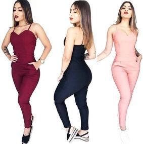 210984b59 Macacao Rose - Macacão para Feminino no Mercado Livre Brasil
