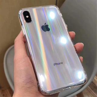 Forro iPhone Tornasol 7 8 Plus + X Xr Xs Max Colores