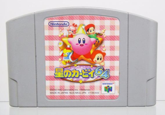 Kirby 64 Original Japonês Para Nintendo 64