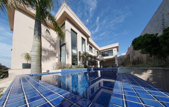 Casa Com 4 Dormitórios À Venda, 430 M² Por R$ 3.100.000,00 - Alphaville - Santana De Parnaíba/sp - Ca0192