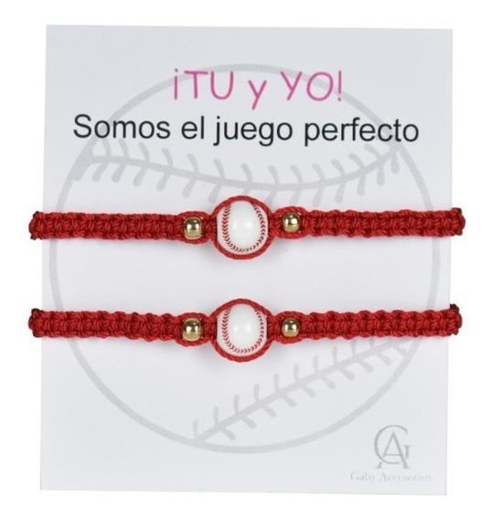 Pulseras Beisbol Parejas Duo Deportes