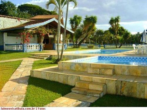 Chácara Residencial À Venda, Jardim Estância Brasil, Atibaia - Ch0197. - Ch0197
