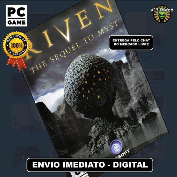 Riven The Sequel To Myst - Pc - Mídia Digital